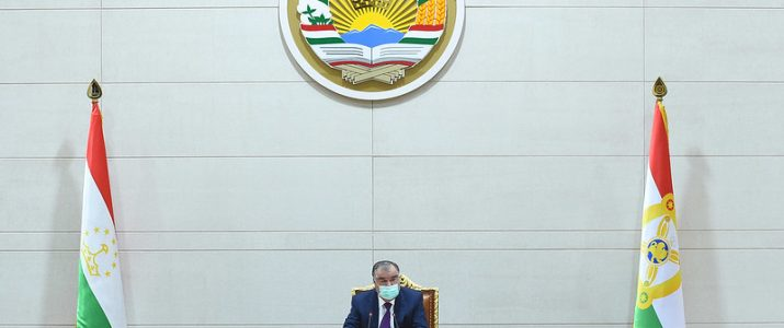 President Emomali Rahmon Presides Over a Governmental Session