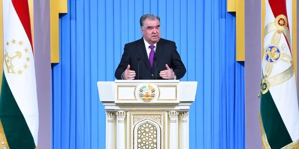 Address by President Emomali Rahmon On Key Aspects of Domestic And Foreign Policy
