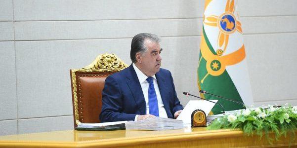 Сегодня состоялось очередное заседание Правительства Республики Таджикистан