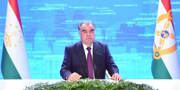 Речь Президента Республики Таджикистан Эмомали Рахмона на видеоконференции, посвященной памяти бывшего Президента Исламской Республики Афганистан Бурхониддина Раббани