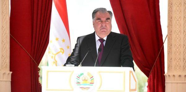 Речь Лидера нации Эмомали Рахмона на встрече с руководителями, активистами и представителями общественности Муминабадского района Хатлонской области