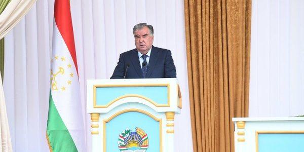 Речь Лидера нации Эмомали Рахмона на встрече с руководителями, активистами и жителями города Гиссар