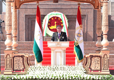 Речь Лидера нации, Президента Республики Таджикистан уважаемого Эмомали Рахмона на церемонии принятия присяги военнослужащими Вооруженных сил и военных структур Республики Таджикистан