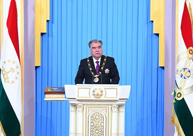 Речь Лидера нации, Президента Республики Таджикистан уважаемого Эмомали Рахмона по случаю инаугурации Президента Республики Таджикистан