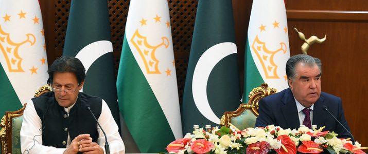 Речь Президента Республики Таджикистан Эмомали Рахмона на пресс-конференции по итогам переговоров с Премьер-министром Исламской Республики Пакистан Имраном Ханом