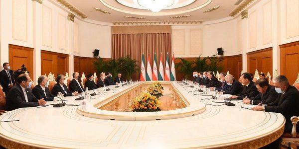 Встречи и переговоры на высоком уровне между Таджикистаном и Ираном