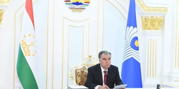 Президент Республики Таджикистан Эмомали Рахмон принял участие в заседании Совета глав государств Содружества Независимых Государств